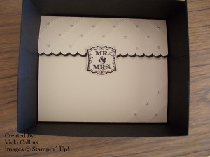 3 Wedding Invitation Box Inside