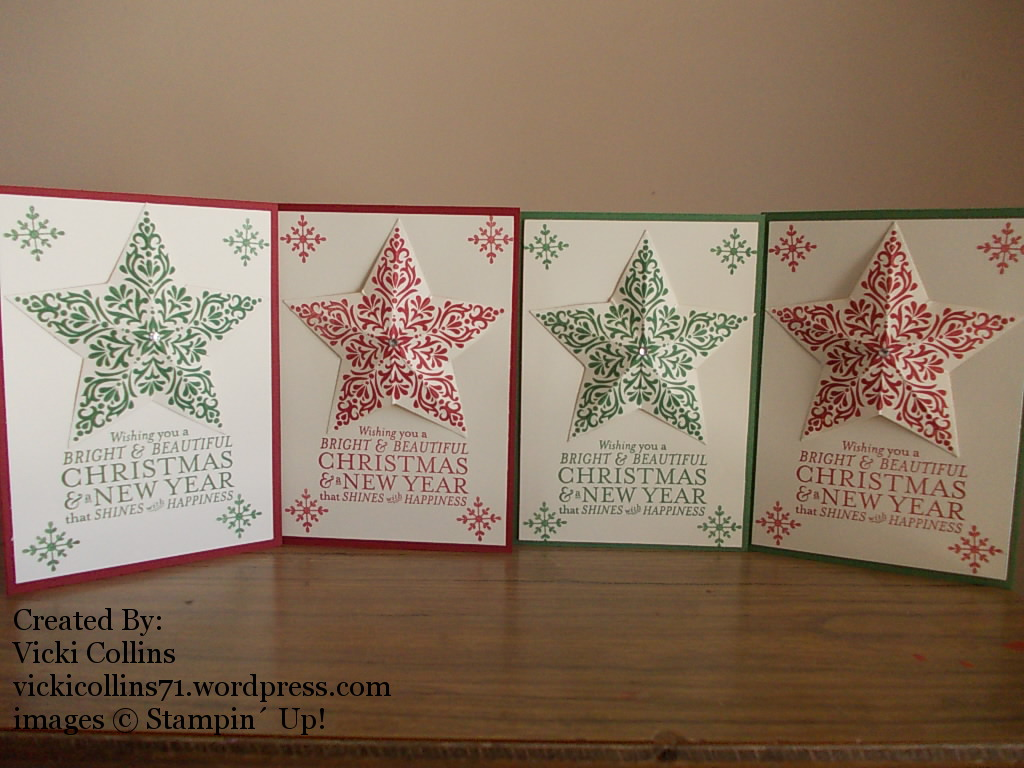Stampin\' Up! Christmas Cards – Vicki Collins Crafty Creations