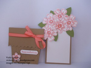 Flower Shop Pot card with tag out